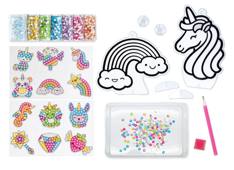 Diamond Painting Supplies: Stickers, Sun Catchers, Gems, Wax, and Stylus