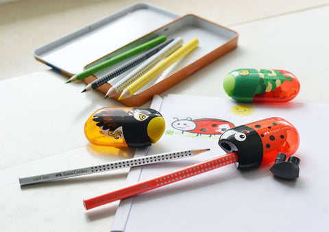 Kids Animal Sharpeners and Grip Pencils