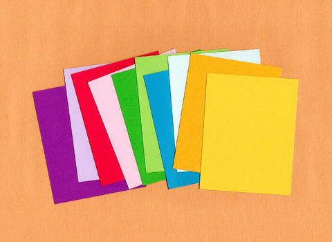 Colored construction paper