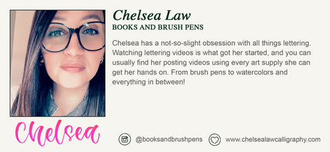 Artist Biography - Chelsea Law - Books and Brush Pens