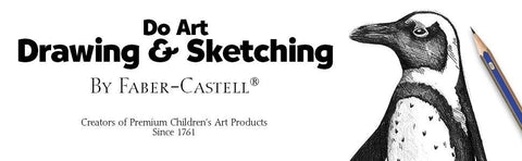 Do Art Drawing & Sketching with graphite penguin