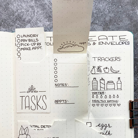 Bullet Journal Pockets