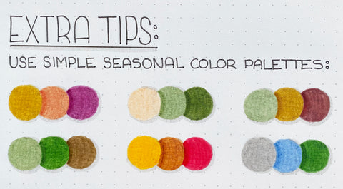 Extra Tips for Simple Seasonal Color Palettes
