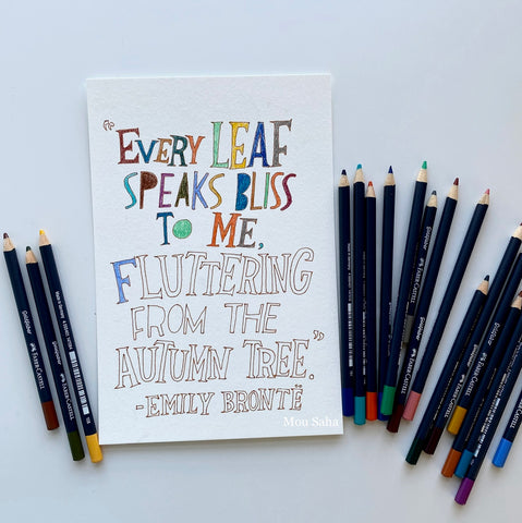 Hand lettering with Goldfaber