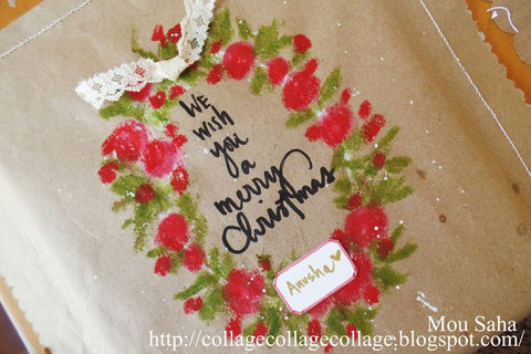 Personalized Gift Wrapping: We Wish you a Merry Christmas