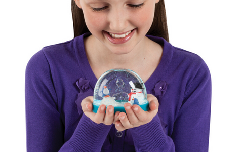 Make Your Own Holiday Snowglobe