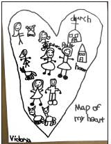 Map of my heart sketch