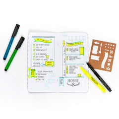 Pitt Artist Pen Journaling Set with Bullet Journal