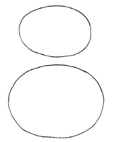 Two ovals