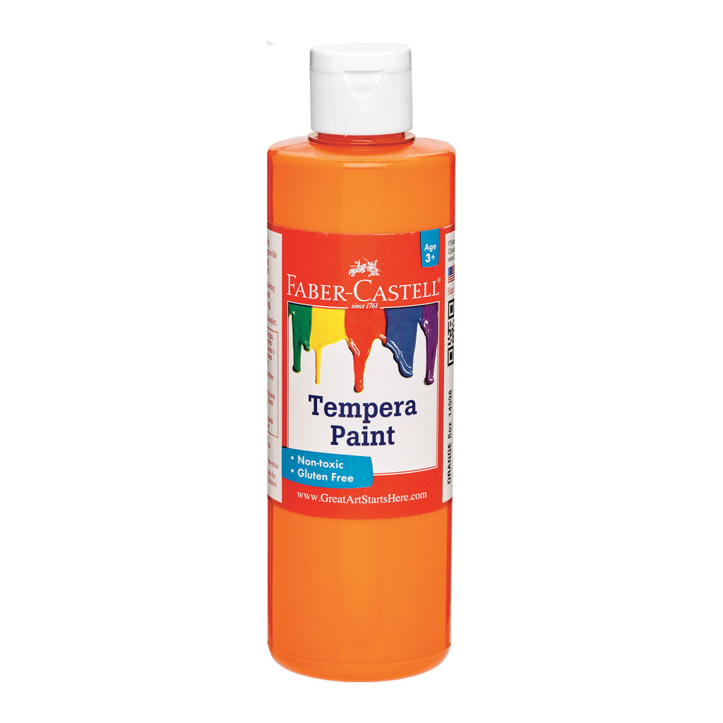 Orange Tempera Paint (8 oz. bottles)