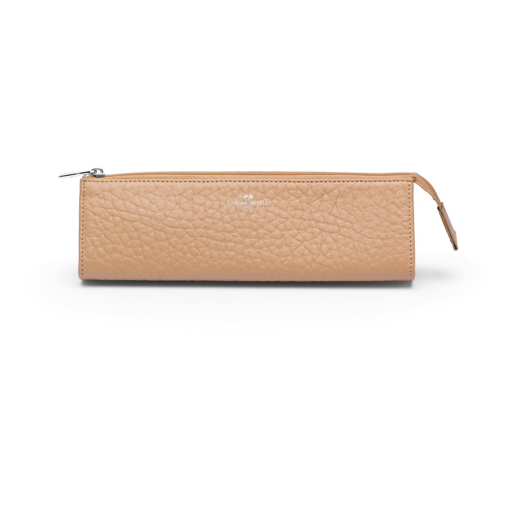 Leather Accessory Case, Beige - Medium - #189328