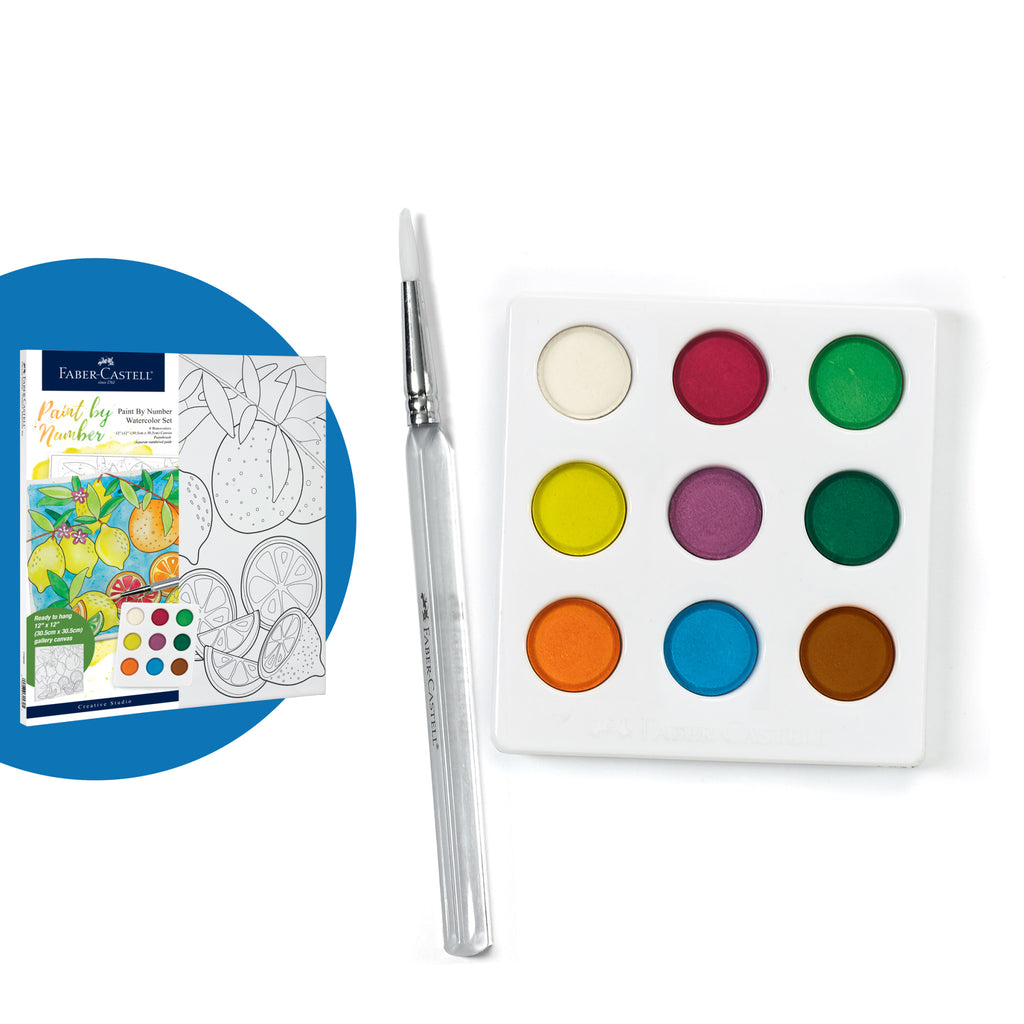 Watercolor Paint by Number Produce - #770632