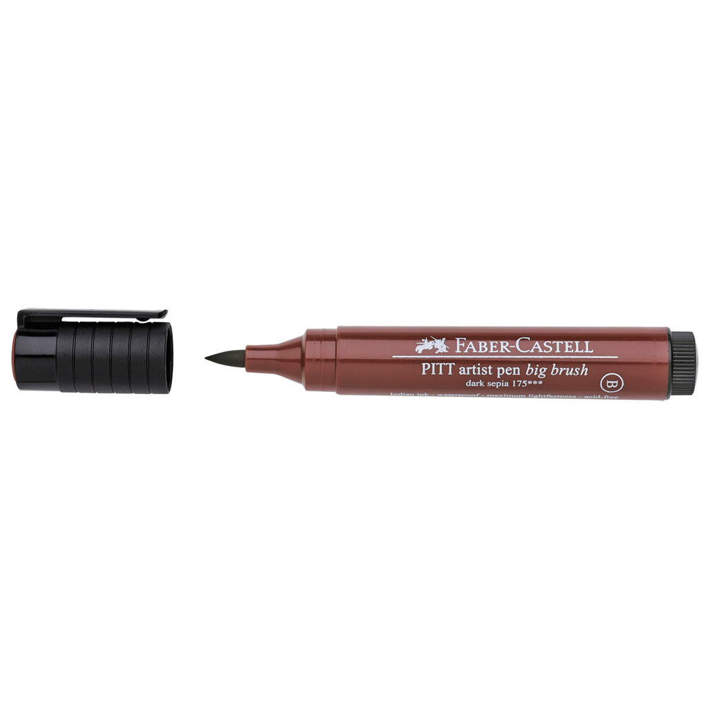 Pitt Artist Pen® Big Brush - #175 Dark Sepia - #167675