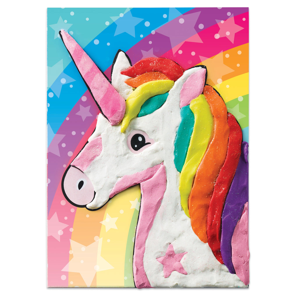 Do Art Coloring with Clay Unicorn & Friends - #14335