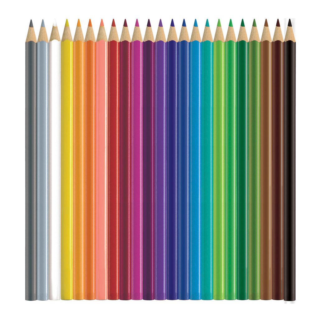 Triangular Colored EcoPencils - 24 ct.
