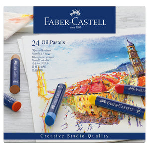 Oil Pastel Crayons - Box of 24 - #127024