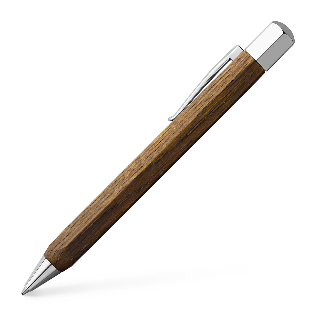 Ondoro Ballpoint Pen - Smoked Oak Wood