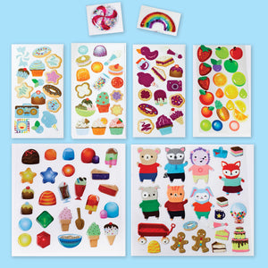 Sensory Sticker Playset – Sweetsville - #6236000