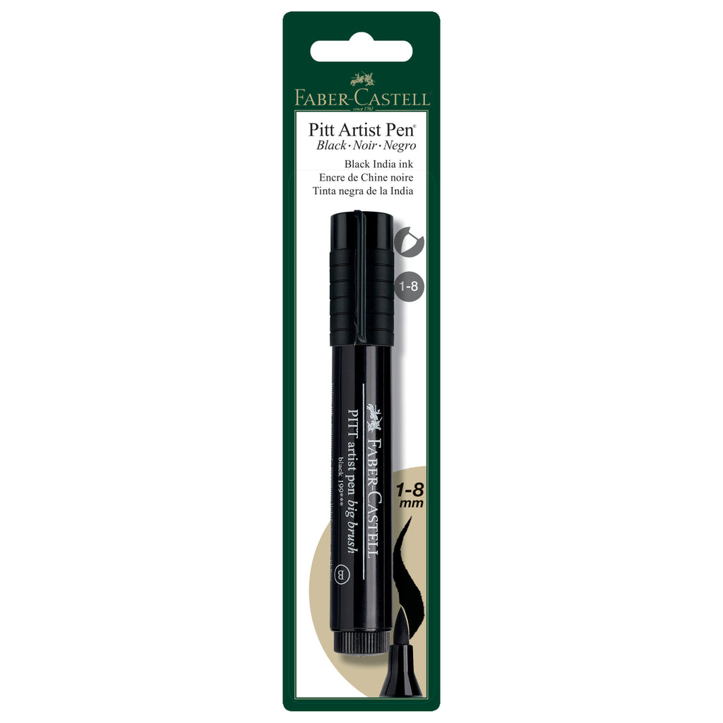 Pitt Artist Pen® Big Brush - #199 Black - #800042