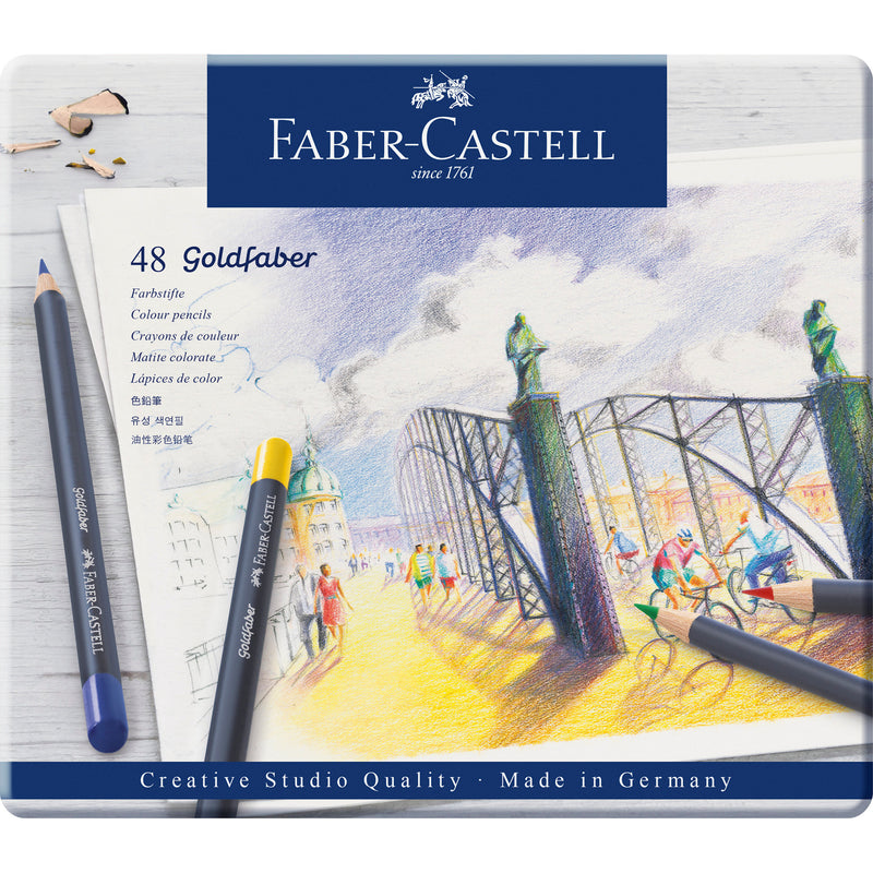 Goldfaber Color Pencils - Tin of 48 - #214748