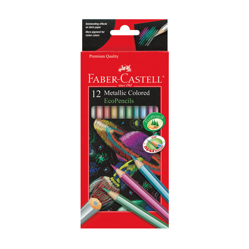 12 Metallic Colored EcoPencils - #9120412