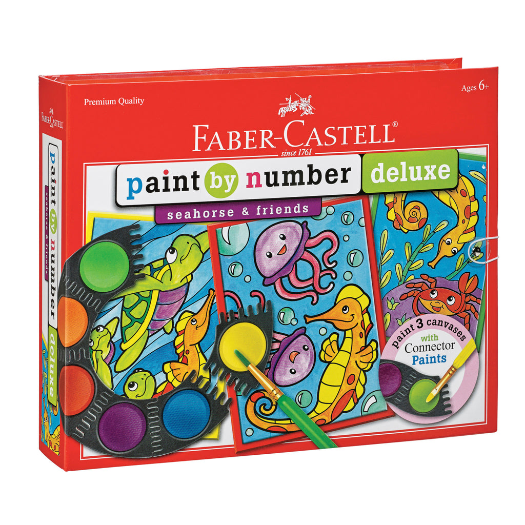 Paint by Number Seahorse & Friends Deluxe