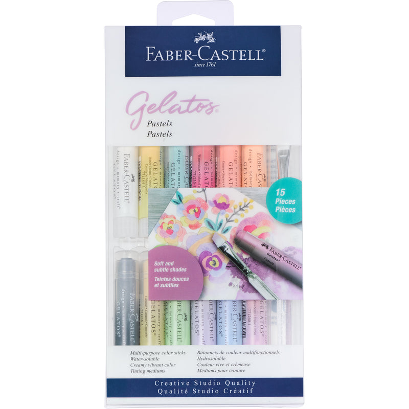 Gelatos® Pastels - 15 Piece Set - #770168