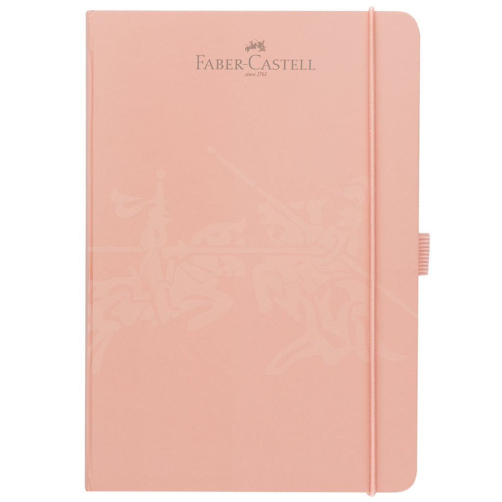 "Notebook A5 5.8"" x 8.3"" Squared - Antique Pink - #10020502"