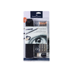 Creative Studio Art on The Go Graphite Pencil Set