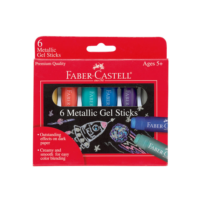 Metallic Gel Sticks - Set of 6 - #14542
