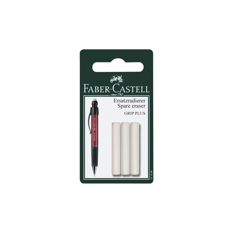 Eraser Refills for Grip® Plus Pencils - 3 pack