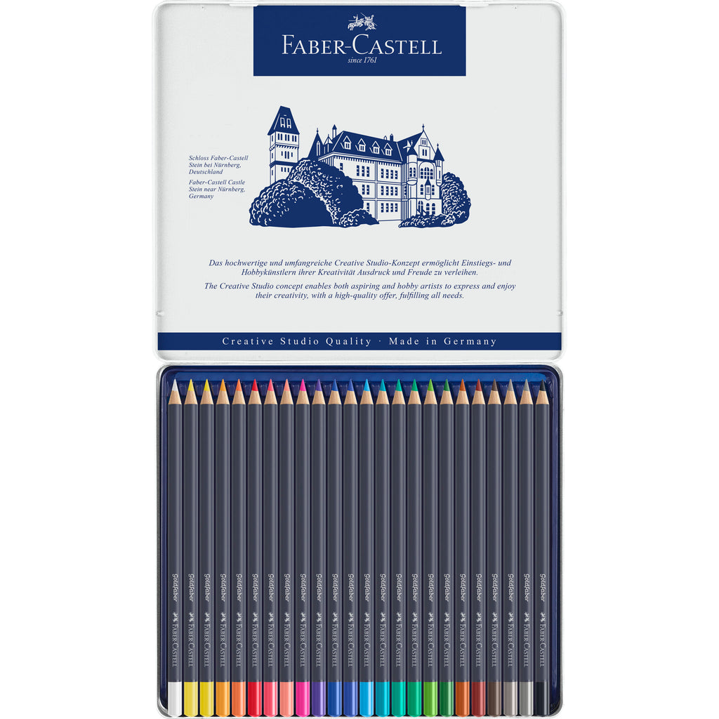 Goldfaber Color Pencils - Tin of 24 - #214724