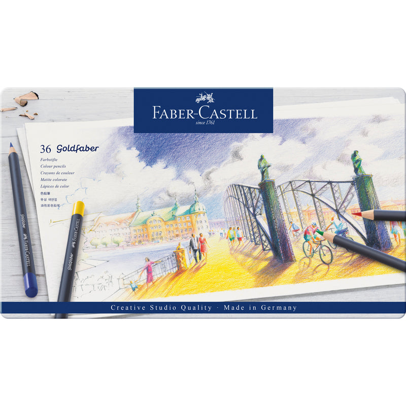 Goldfaber ™ Color Pencils - Tin of 36