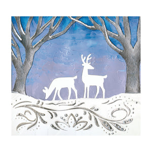 Mixed Media Stencils - Winter - #770608