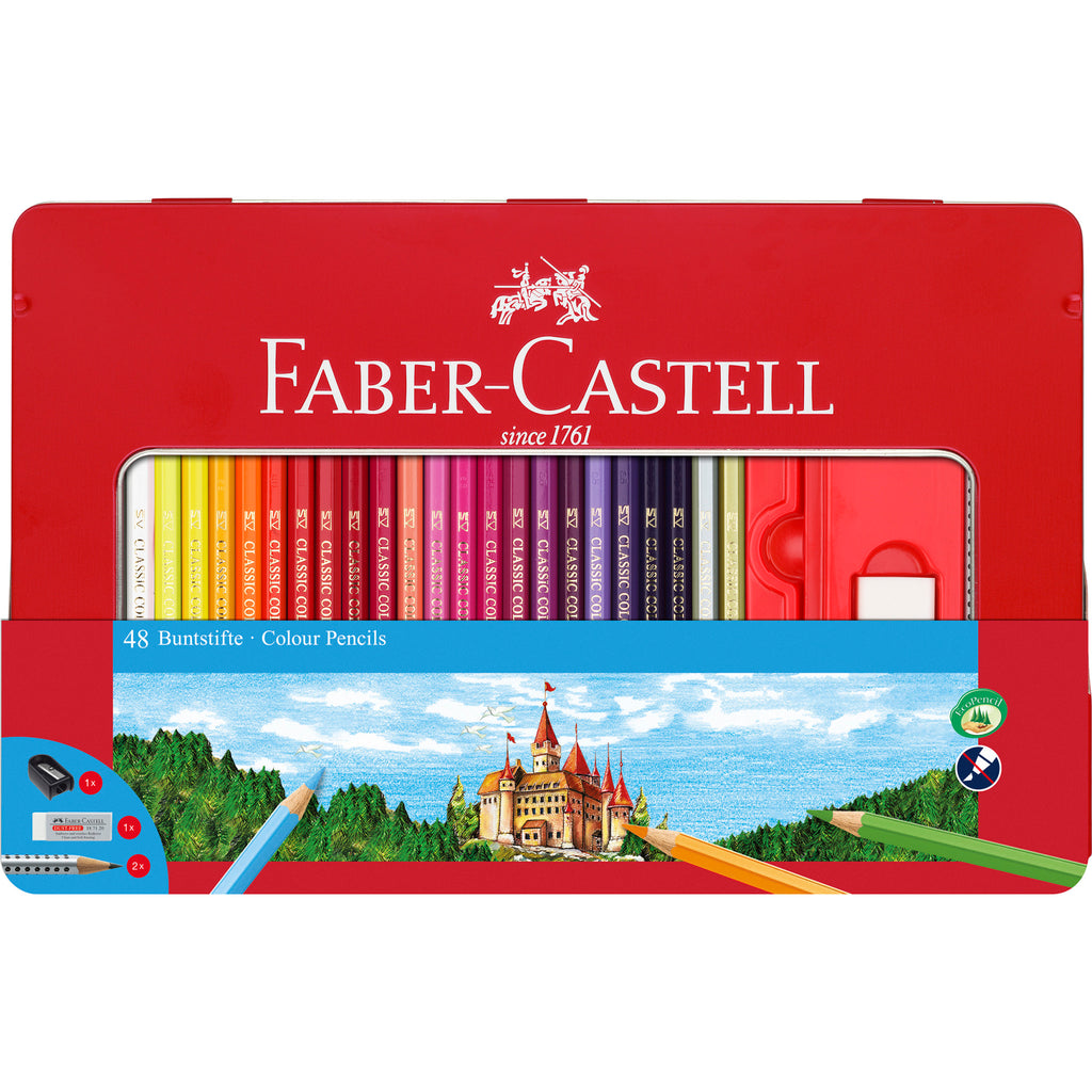 48 Classic Color Pencils & Accessories - Gift Set - #115888