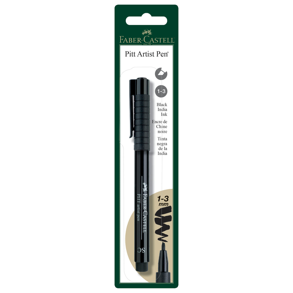 Pitt Artist Pen® Soft Chisel - #199 Black