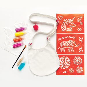 Design & Paint Boho Bag