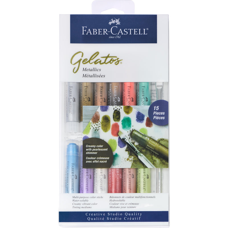 Gelatos® Metallics - 15 Piece Set - #770170
