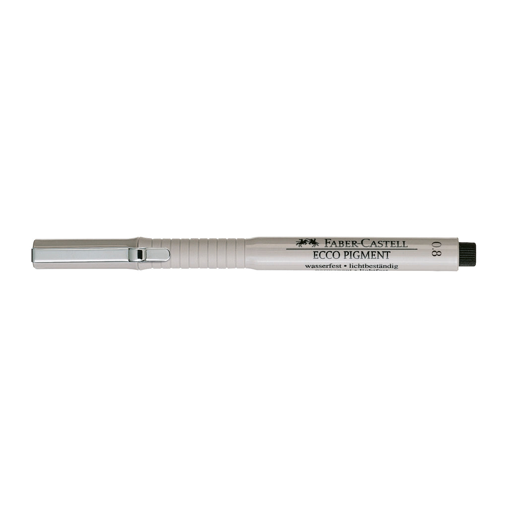 Ecco Pigment Pen Black - 0.8mm - #166899