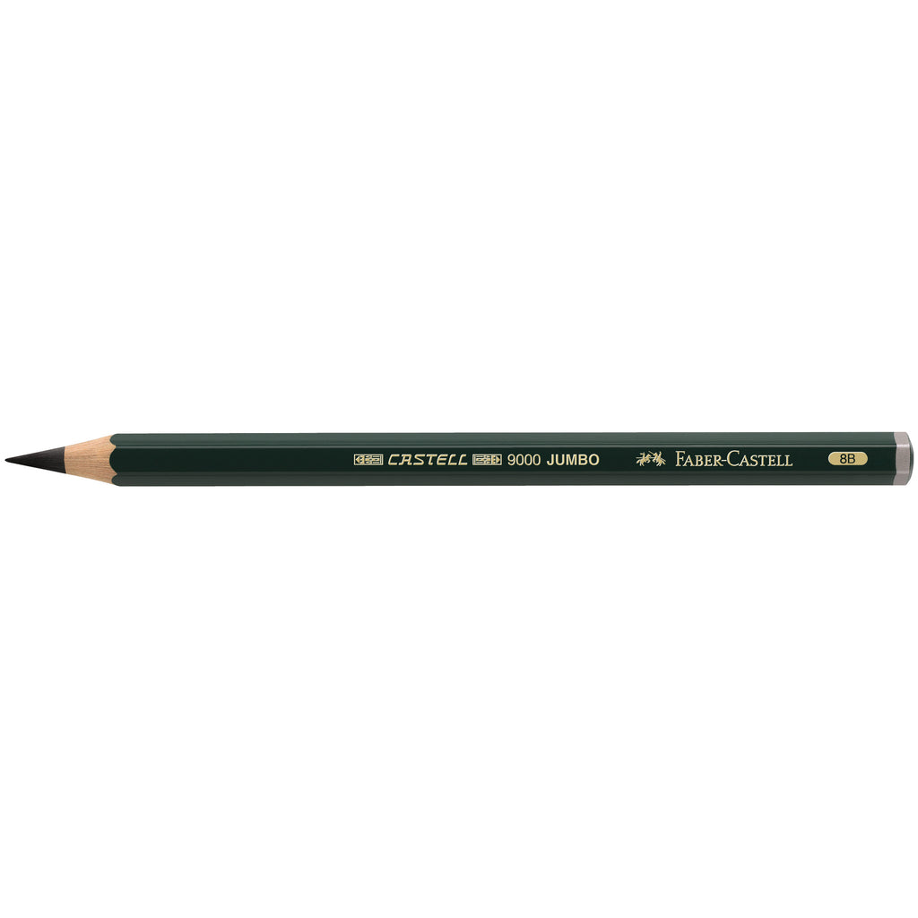 Castell® 9000 Jumbo Graphite pencil - 8B - #119308