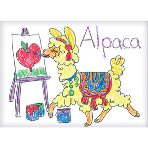 Color & Learn Alphabet Flash Cards - #14330