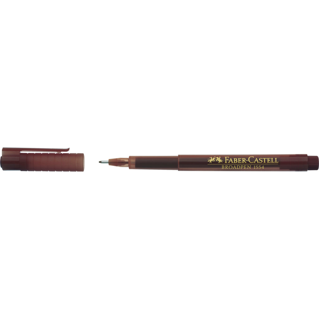 Fineliner Broadpen 1554 - Dark Brown - #155477
