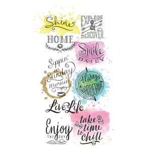 Mixed Media Transfers - Words - #770751