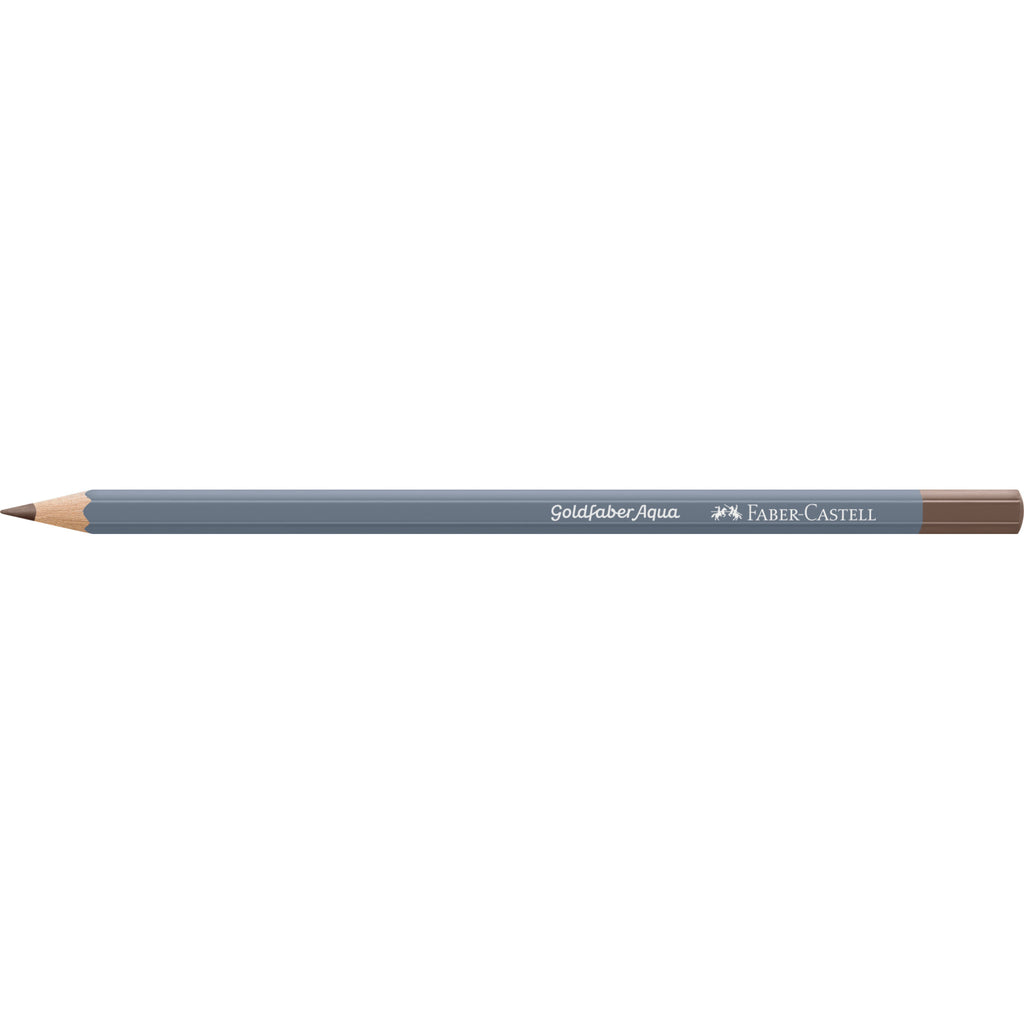 Goldfaber Aqua Watercolor Pencil - #176 van Dyck Brown - #114676