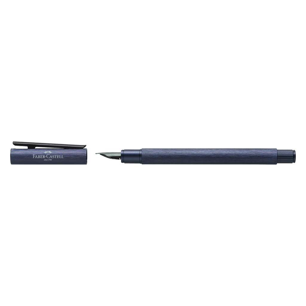 NEO Slim Fountain Pen, Aluminum Dark Blue - Medium - #146160
