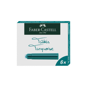 Fountain Pen Ink Cartridges - Turquoise