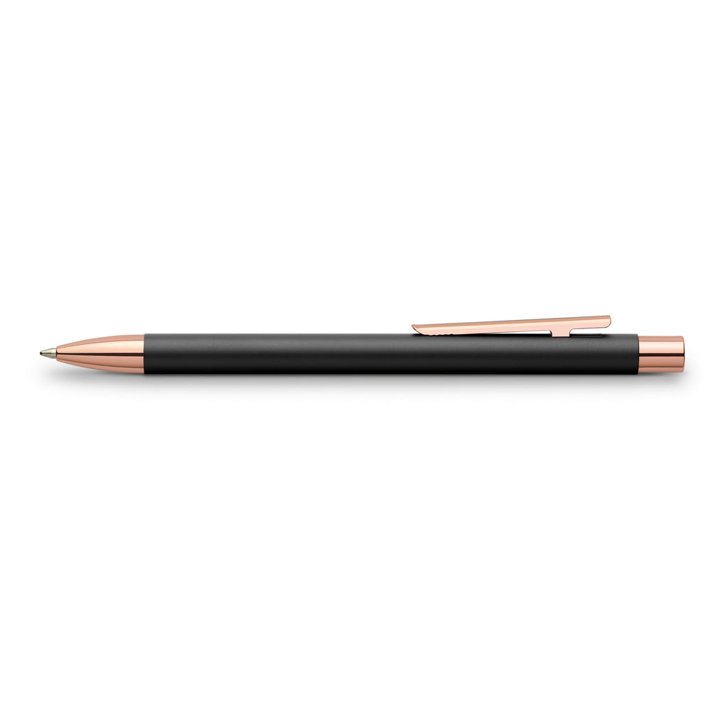NEO Slim Ballpoint Pen - Black Matte and Rose Gold - #343320