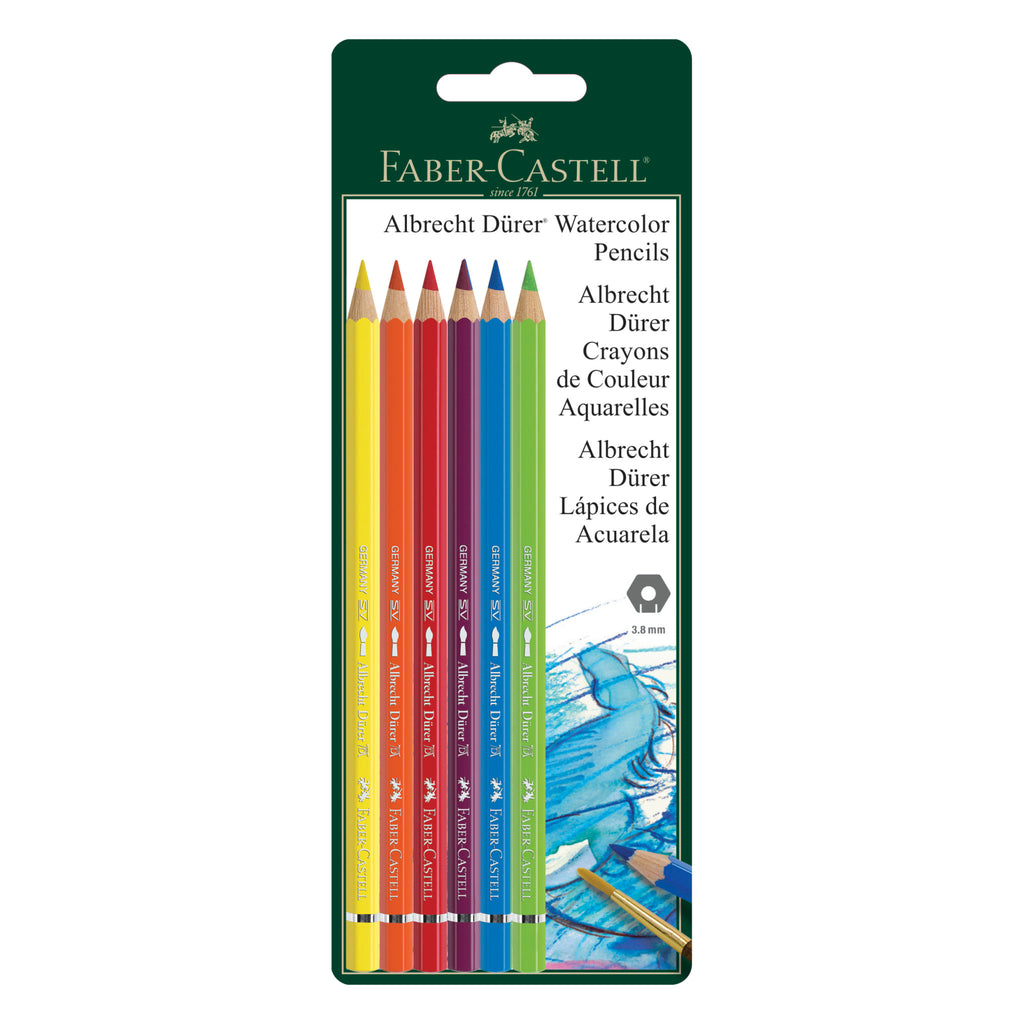 Albrecht Dürer® Artists' Watercolor Pencils - Set of 6  - #800136