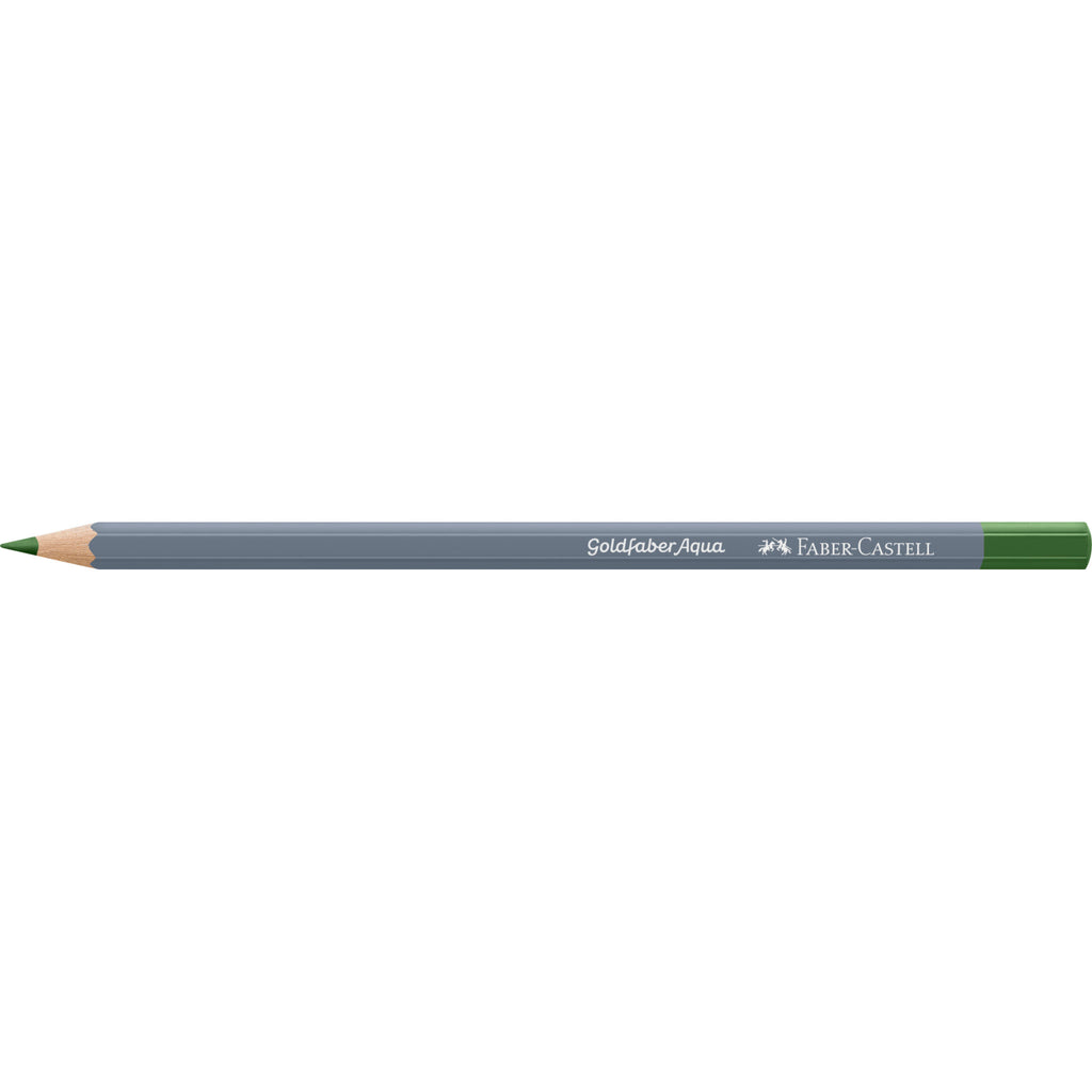 Goldfaber Aqua Watercolor Pencil - #167 Permanent Green Olive - #114667