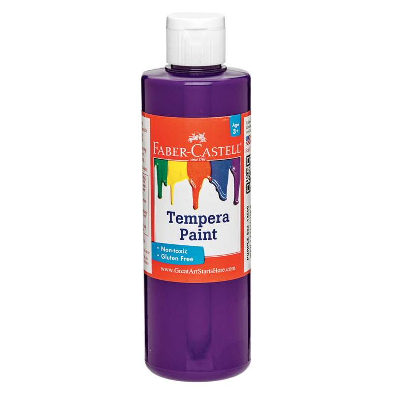 Purple Tempera Paint (8 oz. bottles) - #14599